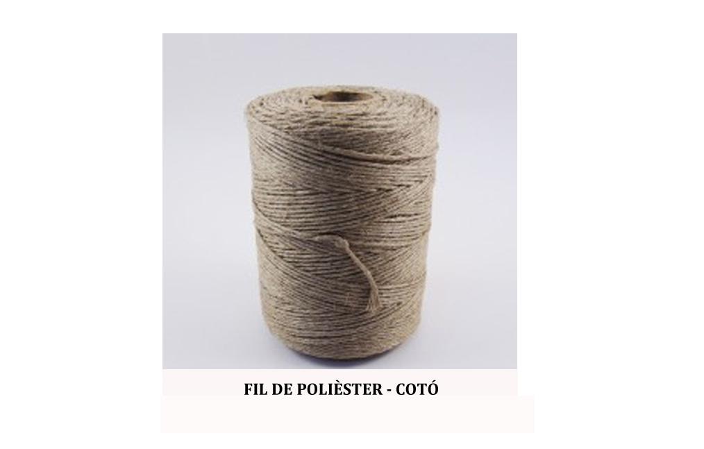 fil de polièster cotó