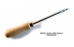 mánec alena amb agulla perforant