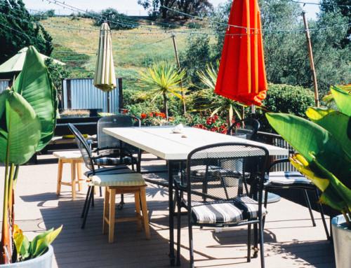 Coixins per la terrassa